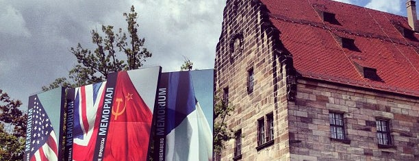 Memorium Nürnberger Prozesse is one of Nuremberg's favourite places.