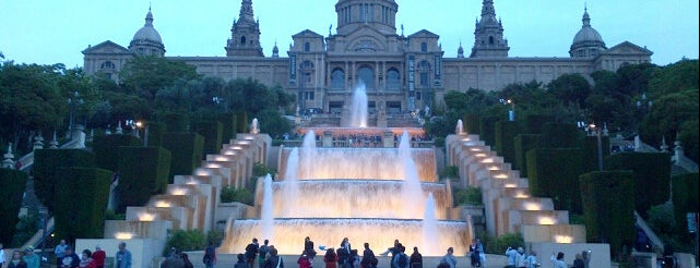 Muntanya de Montjuïc is one of Barcelona Attractions.