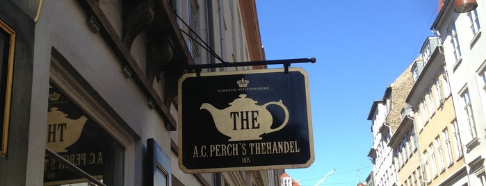 A.C. Perch's Thehandel is one of Copenhagen.