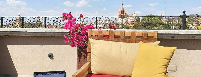 Terraza Rosewood Hotel is one of San Miguel De Allende.