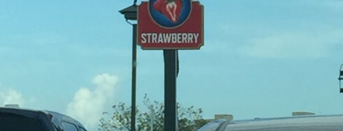 Strawberry Parking Lot is one of Disney Springs.