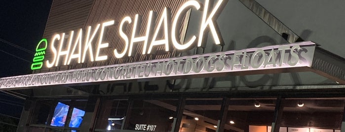 Shake Shack is one of Texas.
