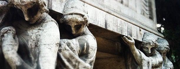 Cimitero Monumentale del Verano is one of Cemeteries in Rome ☠.