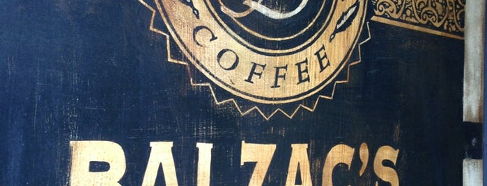 Balzac's Coffee is one of Lieux qui ont plu à jessica.