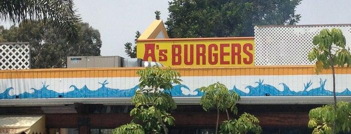 A's Burgers is one of Laguna Ca.