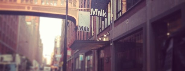Milk Studios is one of Lieux qui ont plu à Erik.