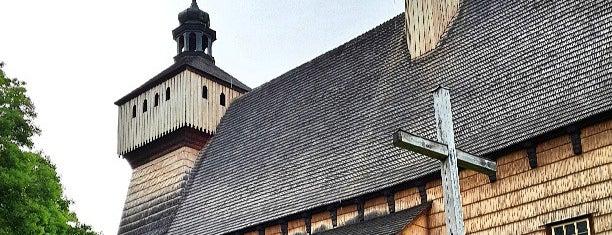 Kościół w Haczowie is one of UNESCO World Heritage Sites in Eastern Europe.