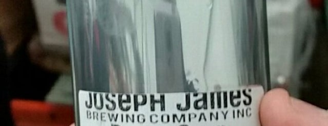 Joseph James Brewery is one of Vegas.