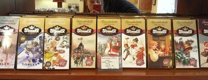 Stühmer Csokibolt is one of reggeli,kv,pékség_PEST.