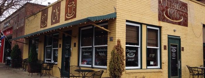 Clingman Café is one of Emily : понравившиеся места.