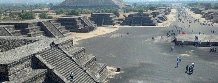 Zona Arqueológica de Teotihuacán is one of México - México D.F..