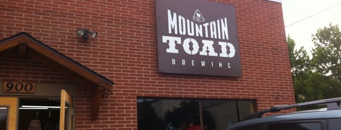 Mountain Toad Brewing is one of Colorado Breweries.