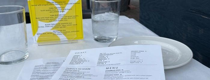 Serafina West 105 is one of Restaurants.
