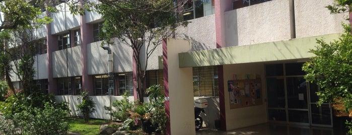 Facultad de Farmacia is one of UCR.