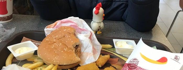 Burger King is one of สถานที่ที่ şahin ถูกใจ.