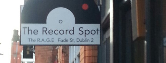 The RAGE (Record Art Game Emporium)/The Record Spot is one of Éirinn go Brách.