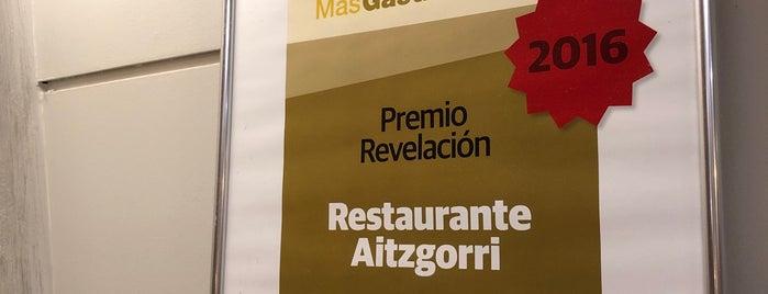 Aitzgorri is one of Restaurantes.