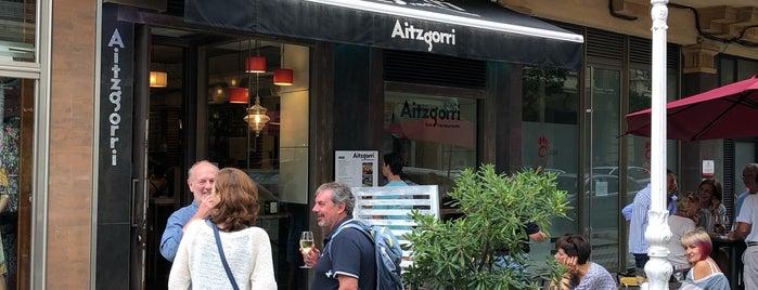 Aitzgorri is one of San Sebastián.