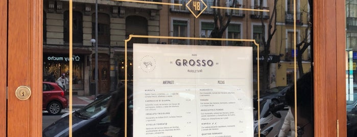 Grosso Napoletano is one of Pendientes Madrid.