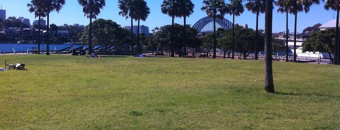 Pyrmont Point Park is one of Sydney Parks.