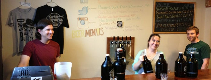 Rushing Duck Brewing Company is one of Craft brews.