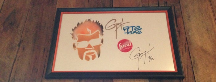 Ortega'z Southwestern Grill & Wine Bar is one of Diners, Drive-Ins & Dives 4.