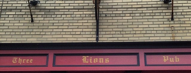 Three Lions Pub is one of Milwaukee World Cup Bars.