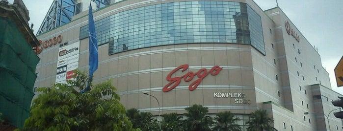 KL SOGO is one of Locais curtidos por Kevin.