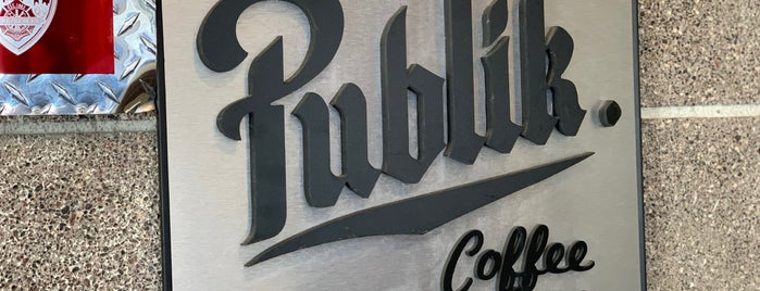 Publik Coffee Roasters is one of SLC / Park City ❄️.