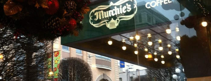 Murchie's is one of Victoria, BC.