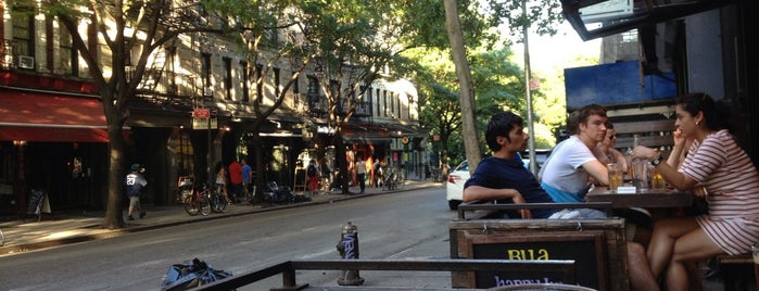 Bua is one of NYC Outdoor seating (Covid).