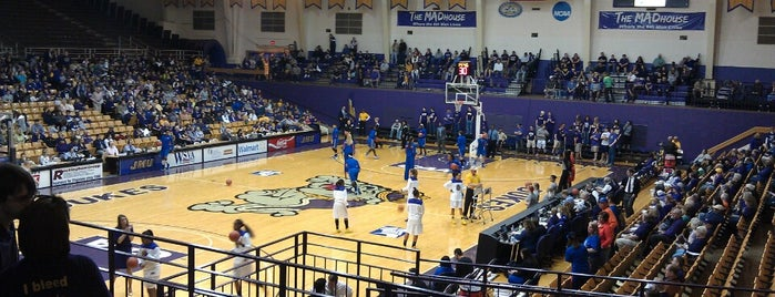 Convocation Center is one of JMU.
