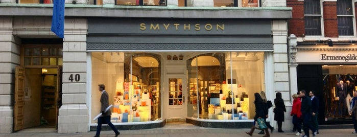 Smythson is one of Let's go to London!.