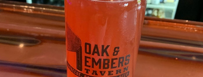 Oak and Embers Tavern is one of Trip west.