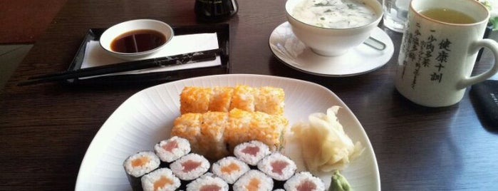 Genki Sushi is one of Lugares favoritos de Erwan.
