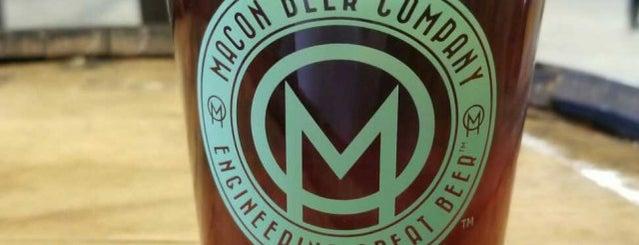 Macon Beer Company is one of Locais curtidos por Terrell.