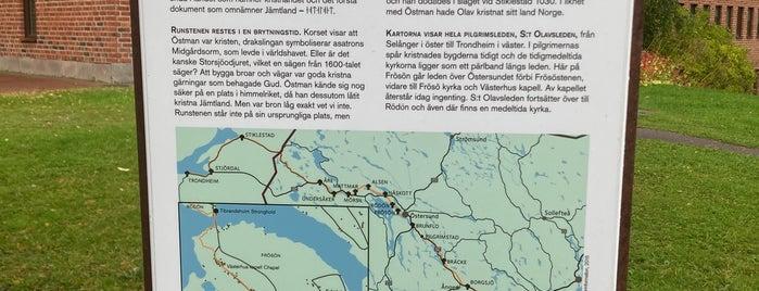 フロソルーン石碑 is one of Sweden.