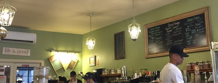 Beans & Leaves is one of The Best Coffee Shop 'Offices' In NYC.