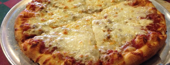 Sam & Louie's New York Pizzeria is one of Omaha pizzas - gf options.