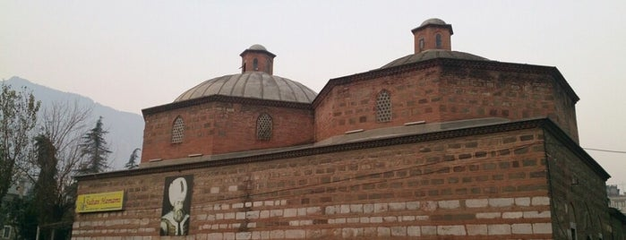 Tarihi Sultan Hamamı is one of Manisa.