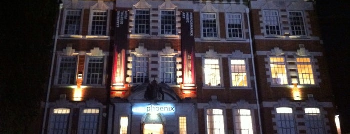 Exeter Phoenix is one of Inspired locations of learning.