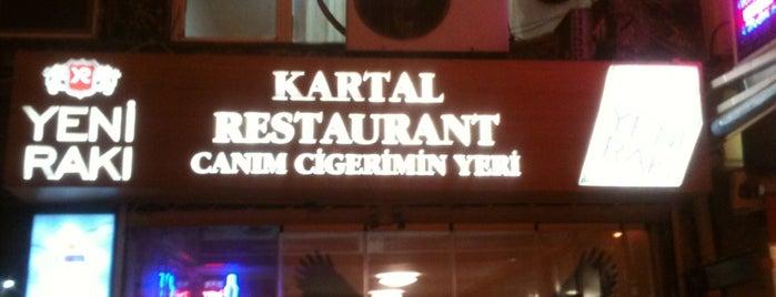 Kartal Restaurant Canım Ciğerimin Yeri is one of meyhanedeyiz.biz.