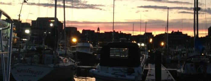 DiMillo's on the Water is one of Portland Maine.