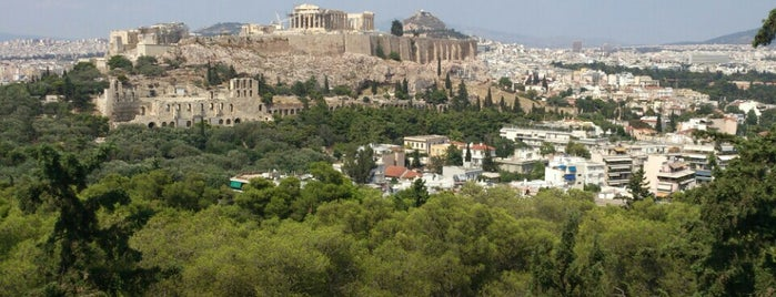 Philopappos Hill is one of Athens.