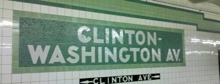 MTA Subway - Clinton/Washington Aves (G) is one of Jasonさんのお気に入りスポット.