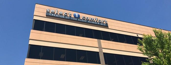 Select Comfort is one of Tempat yang Disukai Geoff.