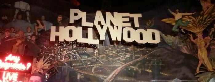 Planet Hollywood is one of Disney Springs.