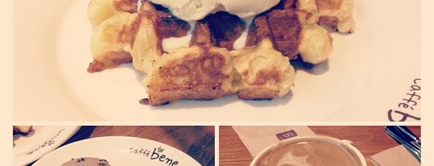 Caffe Bene is one of favorites.