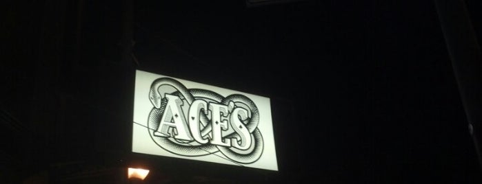 Ace's Bar is one of liver's best of SFO.