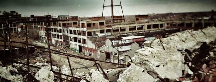 Packard Plant is one of 24hrs in Detroit.